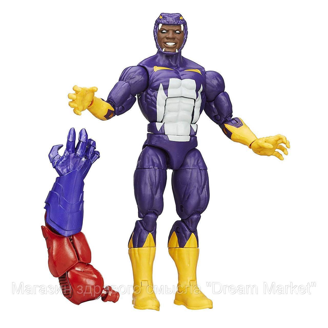 Игровая Фигурка Щитомордник, серия Легенды Марвел, высота 15 см - Build a Figure, Red Skull Series, Hasbro