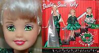 Коллекционный Набор Кукол Барби Поющие Сёстры 2000 года - Holiday Singing Sisters Barbie, Stacie, Kelly, фото 1