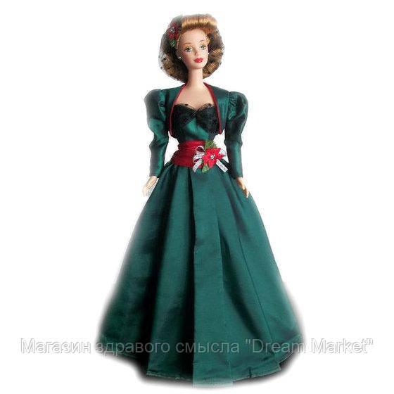 Коллекционная Кукла Барби Праздничная сенсация Шатенка 1999 года - Holiday Sensation Hallmark Barbie Doll