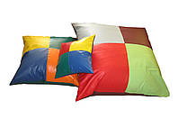 Набор напольных подушек разных размеров для детей от 1 года для квартиры, детского сада или школы Радуга