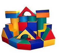 Напольный Мягкий развивающий Игровой Конструктор Игра для детей с 52 модулями для квартиры, дачи или школы