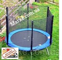 Батут Funfit ORIGINAL 183см (6ft) діаметр зовнішньої сіткою спортивний для дітей і дорослих, фото 1