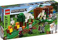 Lego Minecraft Аванпост разбойников 21159