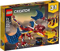 Lego Creator Огненный дракон 31102