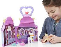Детский Переносной Игровой набор для Девочек Розовый Домик Бутик Рарити Rarity Booktique My Little Pony