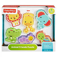 Детский Развивающий Игровой Сортер с объемными фигурами животных Друзья из тропического леса Fisher-Price