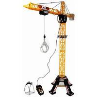 Детская Игрушка Машинка Для мальчиков Кран башенный с пультом управления поворотный 120 см Dickie Toys