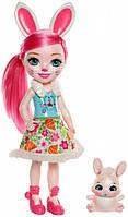 Игрушка Детская Энчантималс Кролик Питомец Зайка ENCHANTIMALS Большая Кукла Бри Кроля 31 см Bree Bunny & Twist
