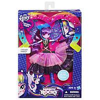 Детская Игровая Кукла-Пони для девочек с микрофоном, крыльями и расческой Twilight Sparkle Твайлайт Спаркл