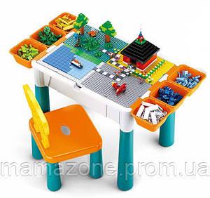 Столик 3 в 1: песочница - рыбалка - столик для конструктора ТМ Sluban арт. 0788