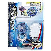Детский Игровой набор волчков с пусковым устройством Hasbro BeyBlade SwitchStrike Bey Sst Jinnius J3 Бейблейд