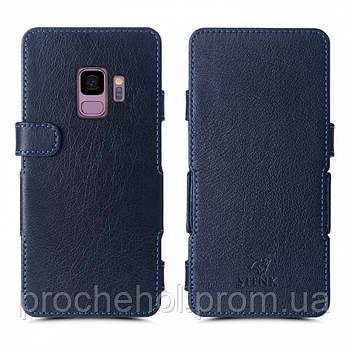 Чехол книжка Stenk Prime для Samsung Galaxy S9 Синий