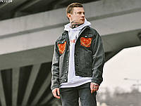 Джинсова куртка Staff c2 ukr drop