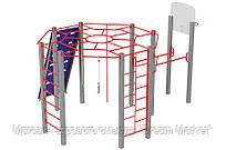 Оборудование для спортивных площадок спортивный комплекс для детей от 12 лет Подготовка мачо 460х405х297 см