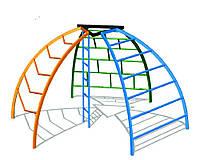 Детский спортивный игровой комплекс для игр на открытом воздухе рукоход сфера Четыре элемента 342х296х169 см