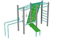 Оборудование для спортивных уличных площадок спортивный комплекс для детей от 12 лет Утро 460х293х252 см