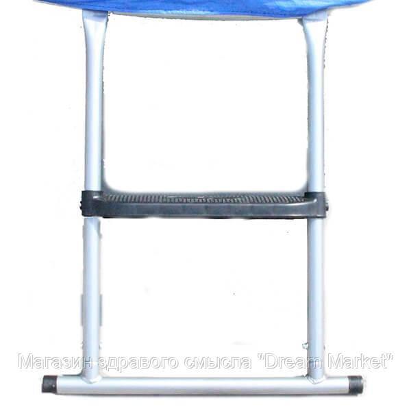 Аксессуар Спортивно-Игровой - Лестница маленькая 52x67 см из стальных труб для батутов D=140, D=183, D=244 см
