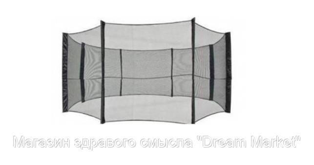 Аксессуар Спортивно-Игровой - Черная ткань-сетка для ограждения батутов диаметром 244 см для защиты от падений