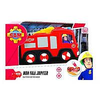 Игрушка Детская Для Мальчиков Машинка Пожарного Сэма красная с фигуркой и звуковыми эффектами Dickie Toys