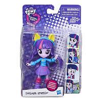 Детский Игровой Набор с Подвижной Мини-куклой для Девочек Сумеречная Искорка Эквестрия Герлз My Little Pony