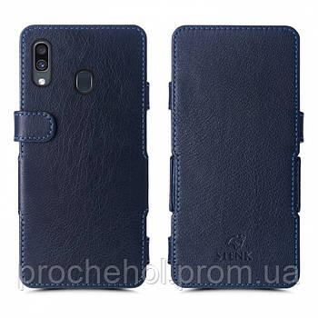 Чехол книжка Stenk Prime для Samsung Galaxy A30 Синий