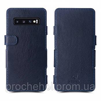 Чехол книжка Stenk Prime для Samsung Galaxy S10 Синий