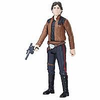 Игровая фигурка Хан Соло Звездные Войны со съемным бластером, высота 30 см - Star Wars Story, Han Solo, Hasbro