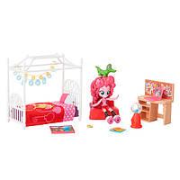 Дитячий Ігровий Набір з Рухомою Міні-лялькою для Дівчаток Спальня Пінкі Пай Equestria Girls My Little Pony