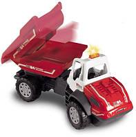Игрушка Детская Интерактивная Для Мальчиков Машинка Самосвал мусоровоз красный со звуком и светом Dickie Toys