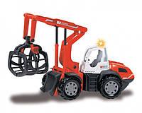 Игрушка Детская Для Мальчиков Машинка для Лесозаготовочных работ со звуковыми и световыми эффектами Dickie Toy