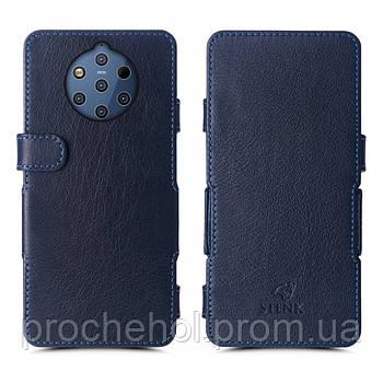 Чехол книжка Stenk Prime для Nokia 9 PureView Синий