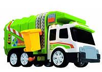Игрушка Детская Для Мальчиков Машинка Городской Самосвал Мусоровоз зеленый со звуком Speed Champs Dickie Toys