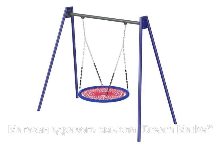 Детская спортивно-игровая Качель-сетка Аист для использования на открытых площадках до 80 кг 305х130х230 см
