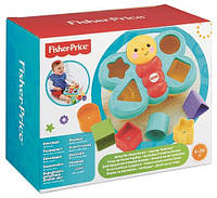 Дитячий Розвиваючий Ігровий Сортер для самих маленьких об'ємний з формочками Метелик різнобарвна Fisher-Price