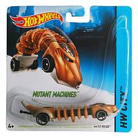 Игрушка Детская Для Мальчиков Машинка Мутант гоночная оранжевая Хот Вилс Hot Wheels Rattle Roller Mattel