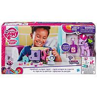Детский Игровой набор с Паровозиком и Вагонами для Девочек Май Литл Пони Поезд дружбы My Little Pony от Hasbro