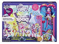 Игровой набор Главная сцена Радужный Рок с Пинки Пай Моя Маленькая Пони - My Little Pony Equestria Girls,