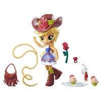 """Детский Игровой Набор для Девочек """"Школа танцев"""" с мини куклой Эпл Джек в наряде ковбоя My Little Pony"""
