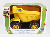 Игрушка Детская Для Мальчиков Пластиковый Грузовик-самосвал желтый с большими колесами Little Tikes Литтл Тайк