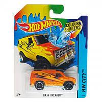 Игрушка Детская Для Мальчиков Машинка термочувствительная Измени Цвет Хот Вилс Hot Baja Breaker Wheels Mattel