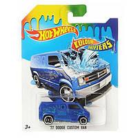 Игрушка Детская Для Мальчиков Машинка термочувствительная Измени Цвет Хот Вилс Hot Wheels Mattel Маттел