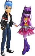 Игровой Набор из 2 кукол Твайлайт Спаркл и Флэш Сентр Мой Маленький Пони - My Little Pony Equestria Girls