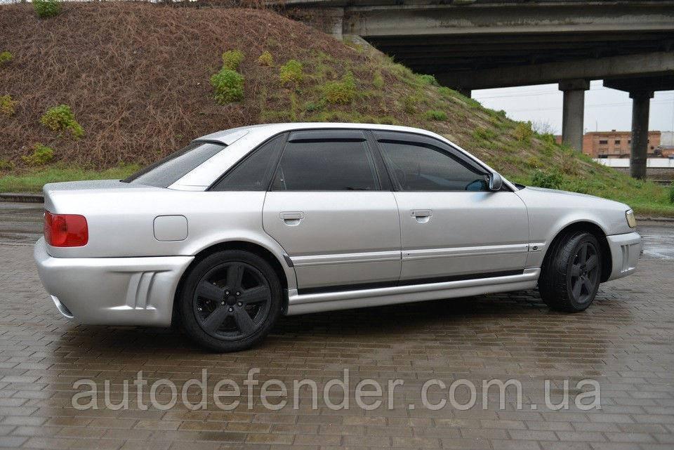 Дефлекторы окон (ветровики) Audi 100 sedan (4A,C4) 1990-1994, Cobra Tuning - VL, A10890
