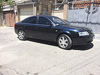 Дефлекторы окон (ветровики) Audi A6 1997-2004 sedan (4B/C5), ANV - Cobra Tuning, A11597