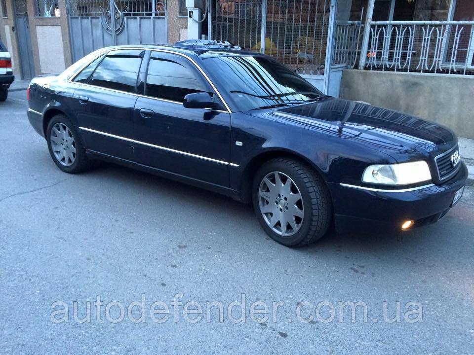 Дефлекторы окон (ветровики) Audi A8 (D2) 1994-2002, Cobra Tuning - VL, A12494