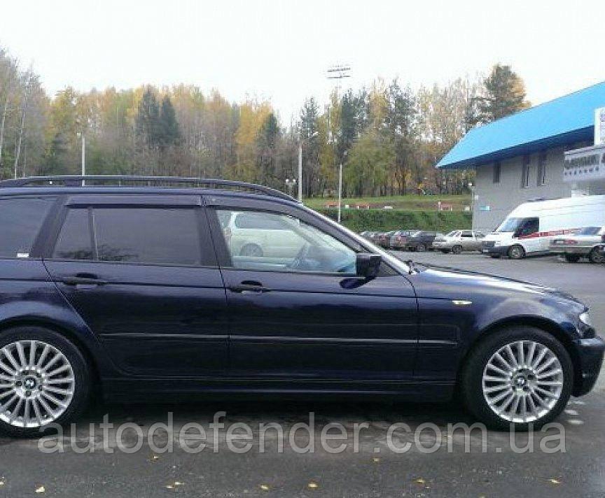 Дефлекторы окон (ветровики) BMW 3 (E46) touring 1998-2005, Cobra Tuning - VL, B21198