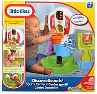 Розвиваючий Дитячий Ігровий набір Спортивний центр зі звуковими ефектами Little Tikes Літтл Тайкс 39х23х41 см