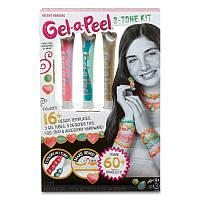Детский Набор для творчества для девочек гель для создания украшений и декорирования Gel-a-Peel Магия цвета