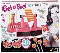 Детский игровой набор для творчества для девочек гель для декорирования предметов со станцией Gel-a-Peel
