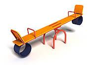 Детская Игровая Качель-балансир Старт для детей от 6 лет для площадок на даче или в детских садах 240х40х90 см